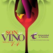 Cartel al Son del Vino 14 fechas 21 y 22